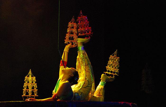 Spektakl Akrobatyczny w Pekinie