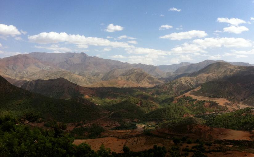Niezwykłe miejsce w Górach Atlas