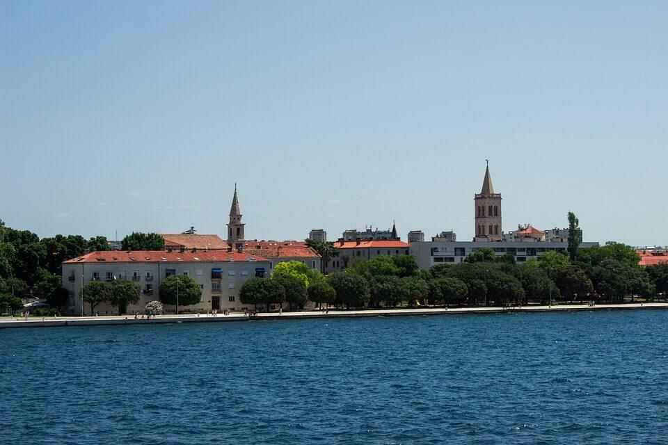 Noclegi nad plażą Zadar
