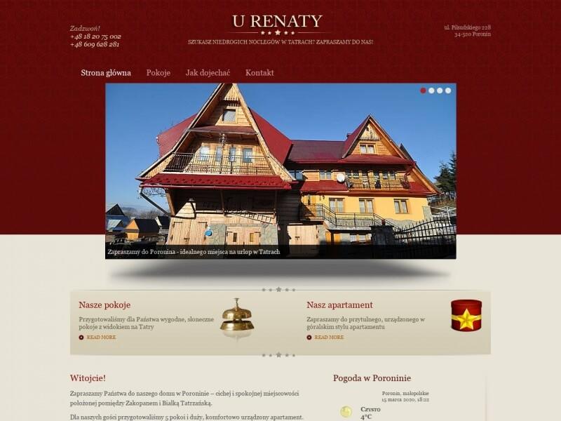 "Apartament ""U Renaty"" - Poronin"