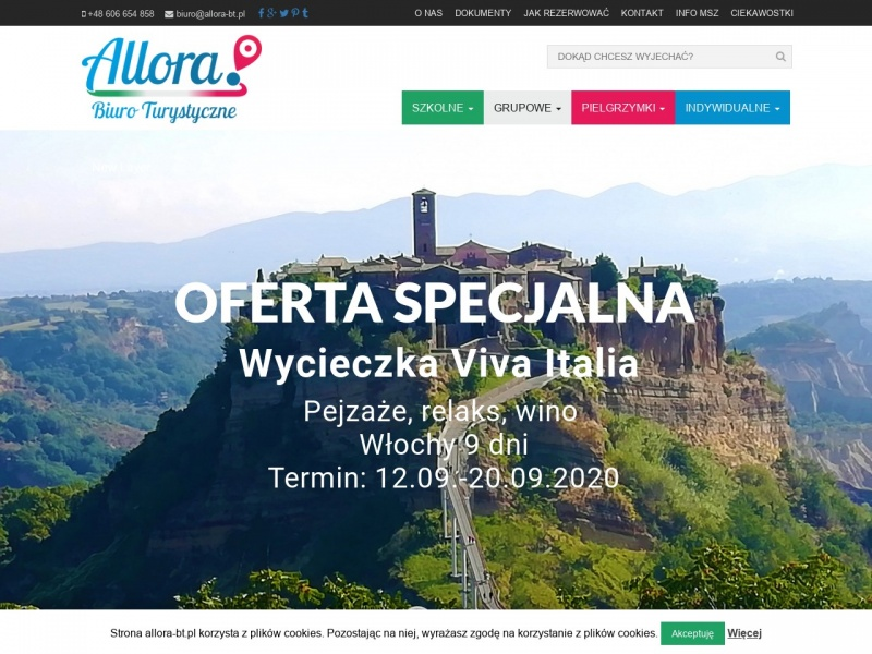 Wycieczki do Włoch - Biuro Allora
