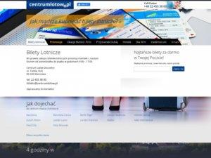 Centrum Lotów - Rezerwacja i Sprzedaż Biletów Lotniczych Online