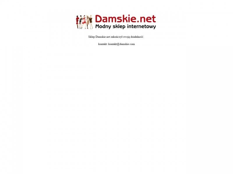 Odzież damska turystyczna online Damskie.net