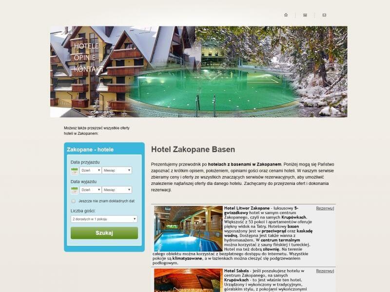 Hotel Zakopane Basen