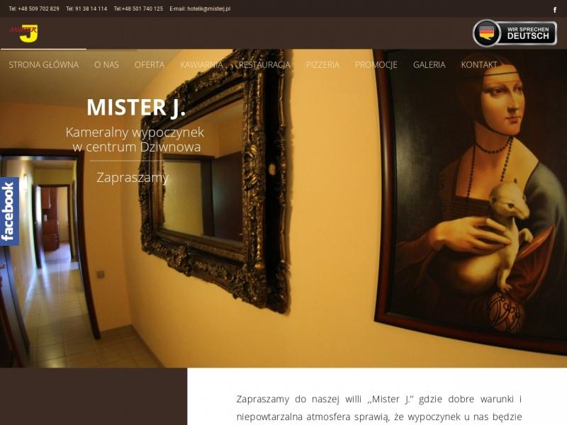Willa Mister J - misterj.pl