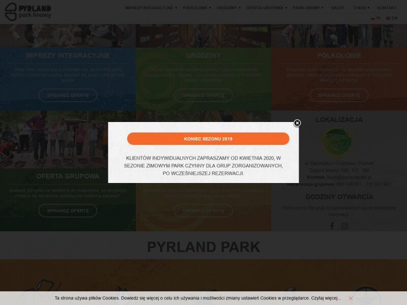 Pyrland Park Linowy - Malta Poznań
