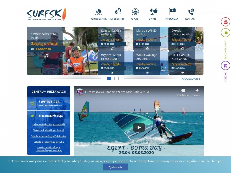 Surfski - biuro podróży dla aktywnych