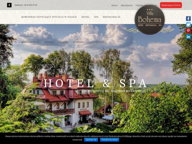 Hotel w Kazimierzu Dolnym