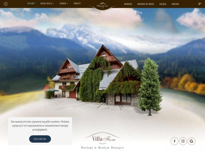 Biały Dunajec noclegi - Villa Fiore