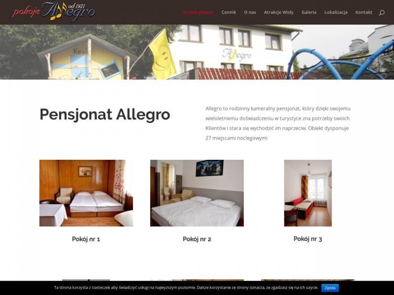 Pensjonat Allegro – Wisła Noclegi