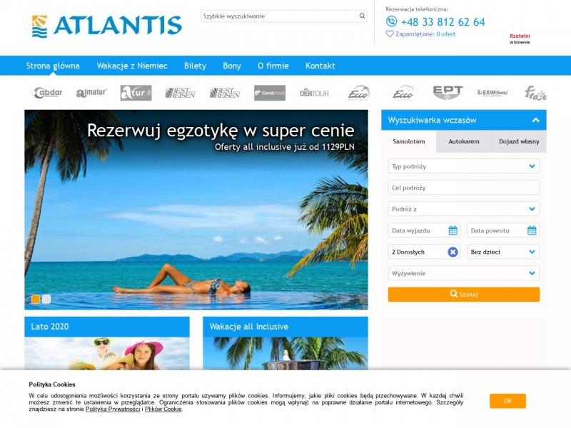 Biuro podróży Atlantis Travel