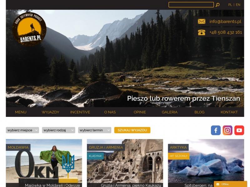 Barents.pl - Organizacja wypraw na Kaukaz
