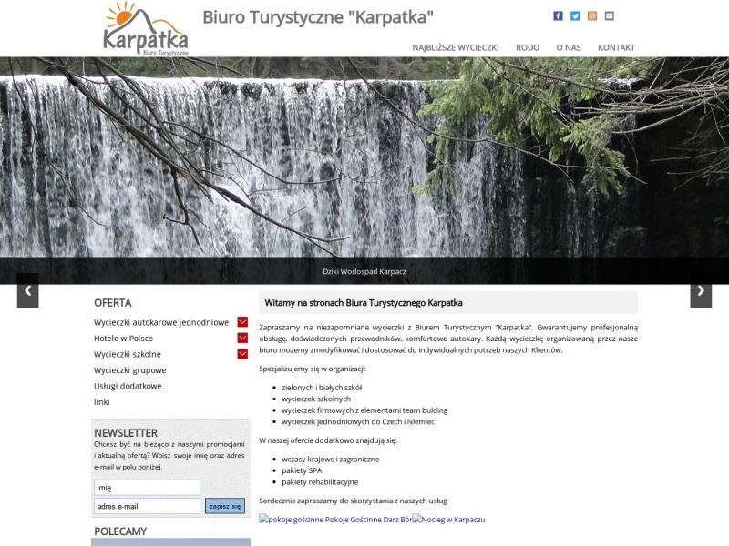 Biuro Turystyczne Karpatka - wycieczki i wypoczynek