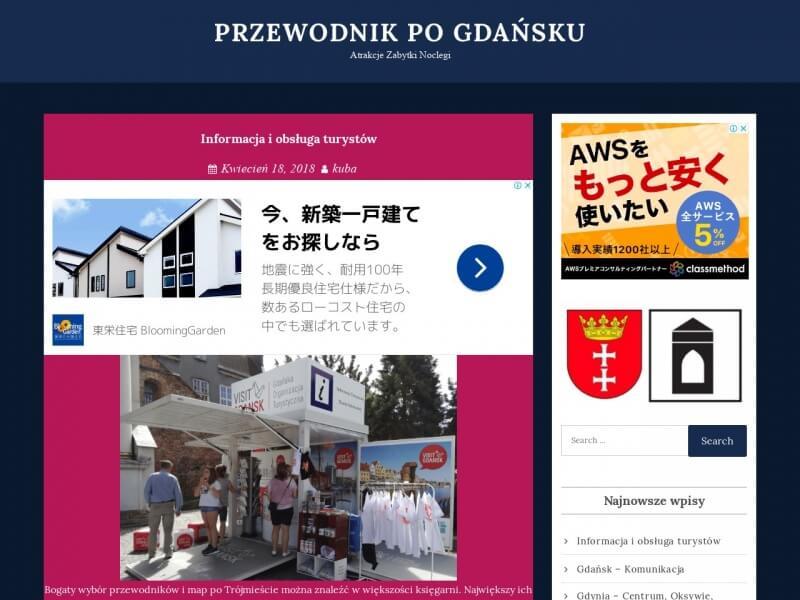 Gdańsk z licencjonowanym przewodnikiem.