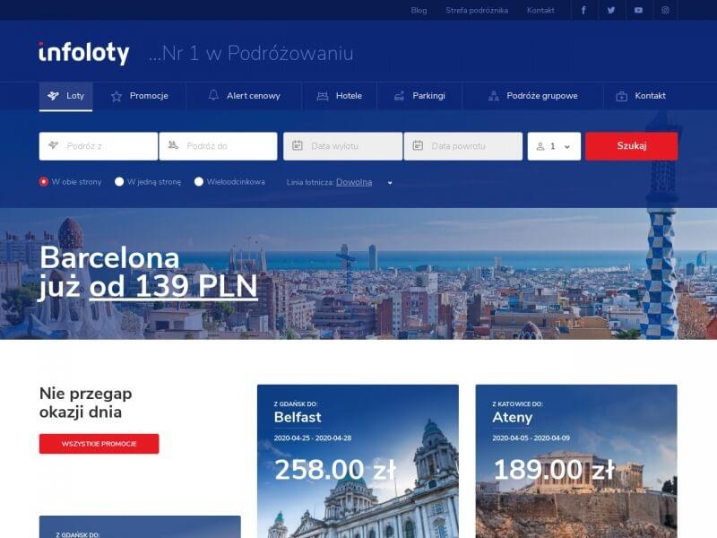 Tanie Bilety Lotnicze - Infoloty.pl