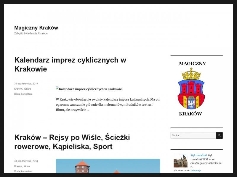 Ferie w Krakowie. Magiczny Kraków zaprasza!