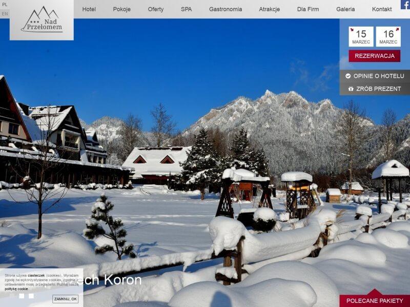Hotel Nad Przełomem - góry Pieniny