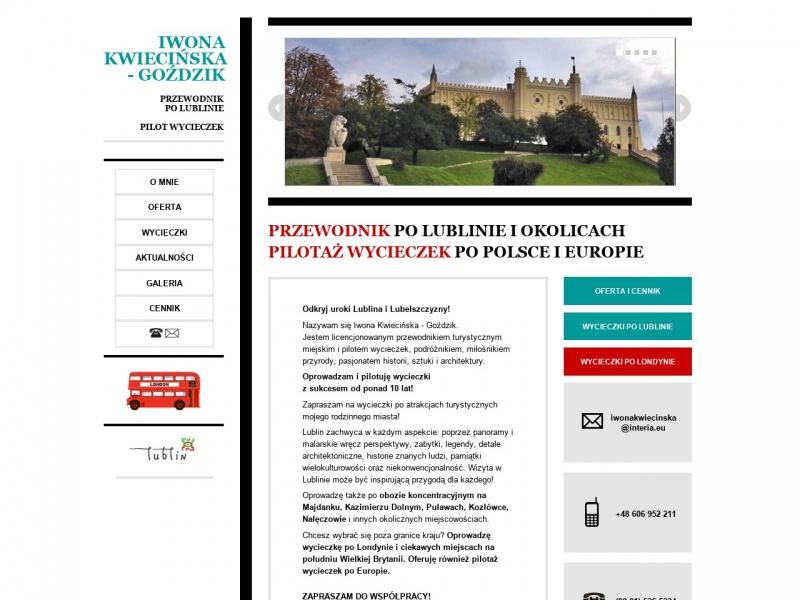 Przewodnik po Lublinie Iwona Kwiecińska - Goździk