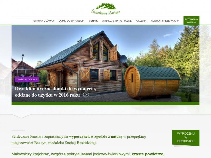 Domki do wynajęcia w górach - swierkowe-zacisze.pl