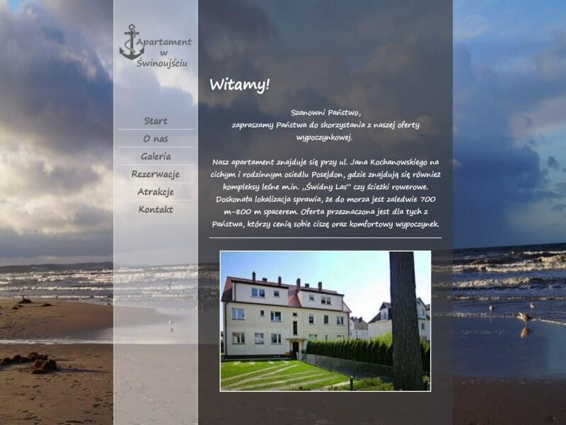 Baltic Park Świnoujście - luksusowy Apartament do wynajęcia