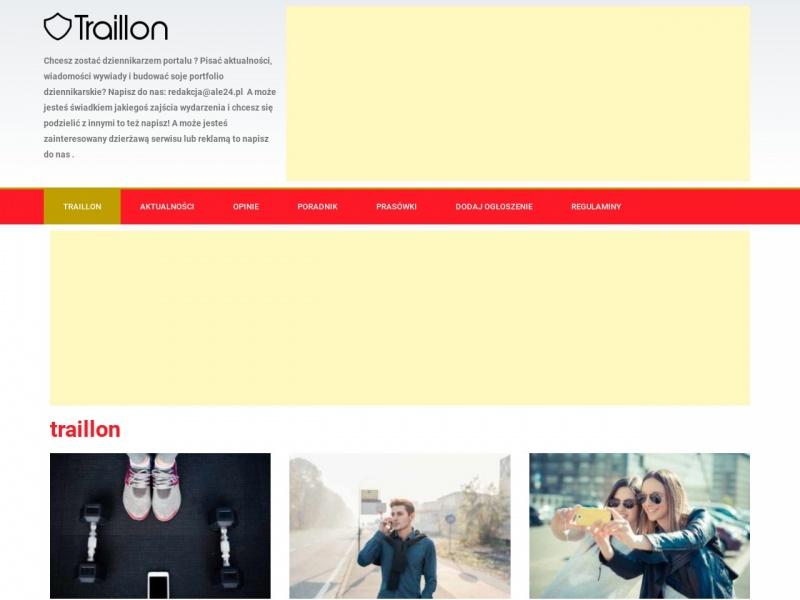 Traillon - interaktywna mapa szlaków turystycznych