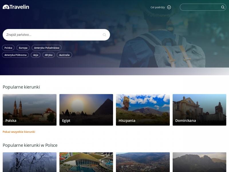Travelin.pl - portal dla podróżników oraz turystów