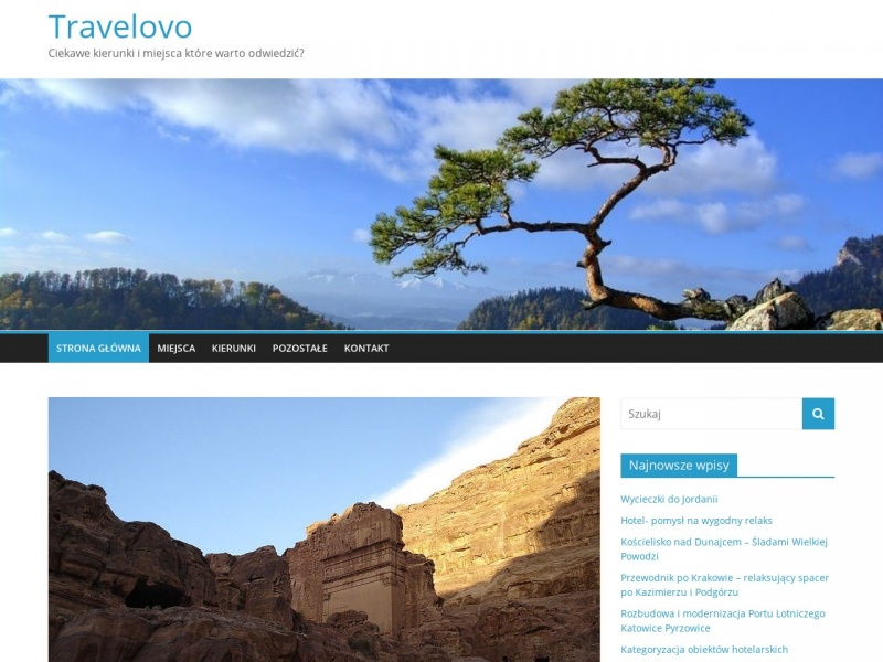 Serwis turystyczny Travelovo