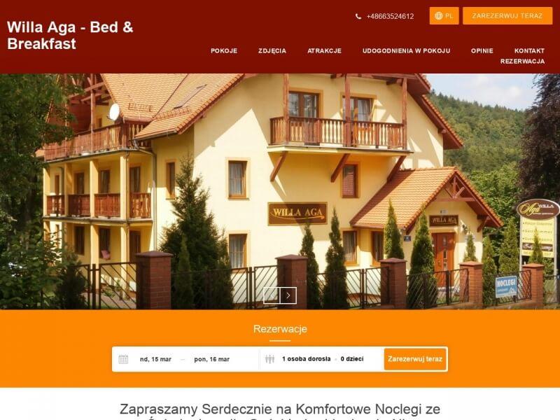 Willa Aga - Pokoje Gościnne w Karpaczu