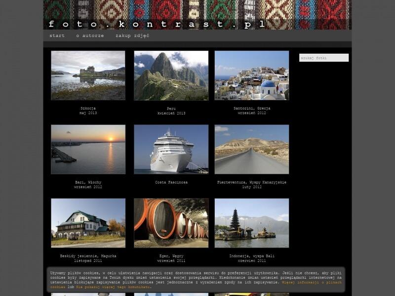 Galeria fotografii podróżniczej