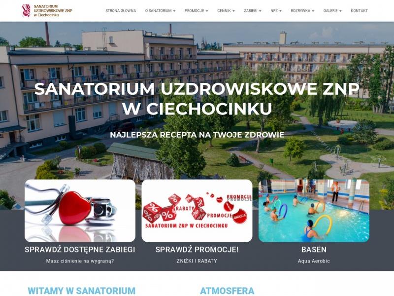 Ciechocinek Sanatorium znpciechocinek.pl
