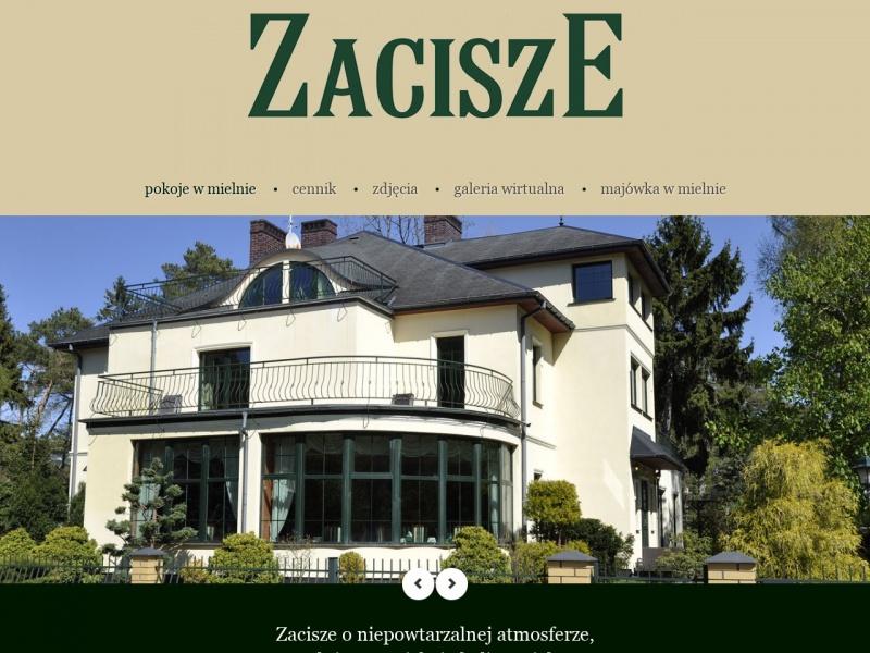 Pensjonat Zacisze w Mielnie